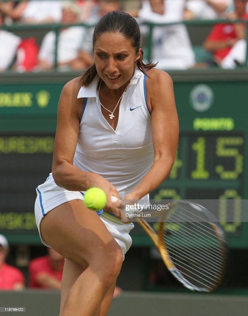 2006 Wimbledon Championship La s Singles Quarterfinals