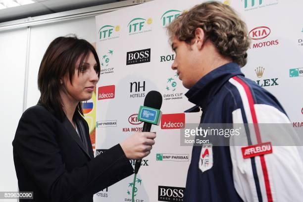Anastasia MYSKINA / Richard GASQUET Tirage au sort Russie / France Coupe Davis