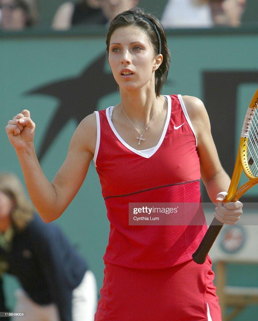 2004 French Open Women s SemiFinal Anastasia Myskina vs