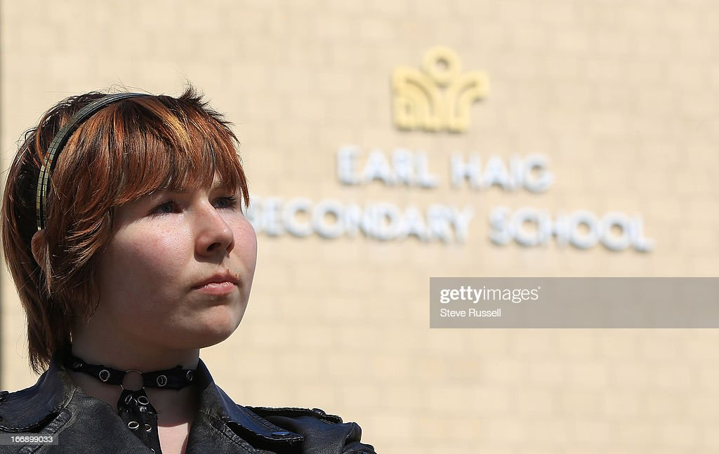 Anastasia Nikiforoda, 18, is upset that students at Earl Haig Secondary School are angry that there's a limit to guest tickets for their big prom this month. The school said only 25 guests from outside the school can come, but there are more than 600 Grade 12 students graduating and lots have dates who don't go to the school. Nikiforoda showed up Monday at about 8.30 to pick up a guest form but it turns out some students had been there since 6 a.m. and already there was a waiting list for the guest forms. Anastasia has dreamed for 3 years of going to prom with her long-term boyfriend, who doesn't go to the school. in Toronto.