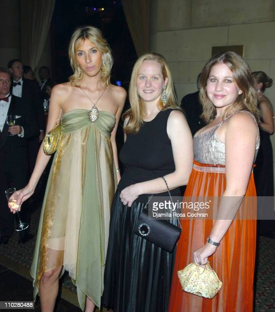 Anastasia Rogers Maggie Wagner and Mandy Wynn during 2005 Princess Grace Awards at Ciprianis at 42nd St in New York City New York United States