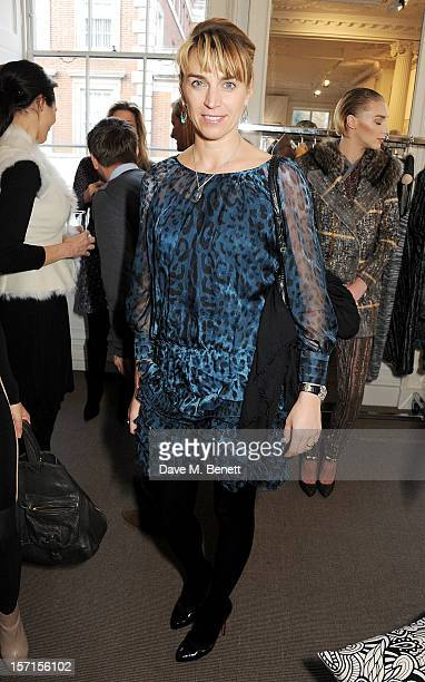 Anastasia Webster attends the Missoni lunch hosted by Angela Missoni at Privatus on November 29 2012 in London England