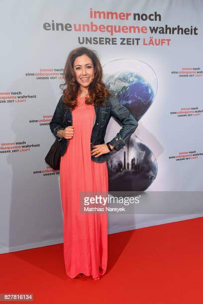 Anastasia Zampounidis attends a special screening of 'An Inconvenient Sequel Truth to Power' at Zoo Palast on August 8 2017 in Berlin Germany