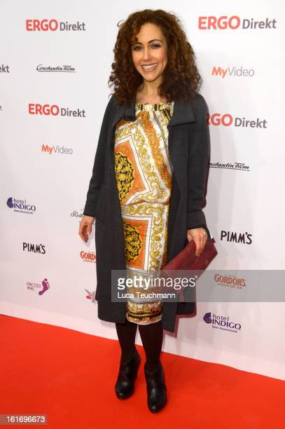 Anastasia Zampounidis attends the 5th '99FireFilmsAward' Red Carpet Arrivals at Admiralspalast on February 14 2013 in Berlin Germany