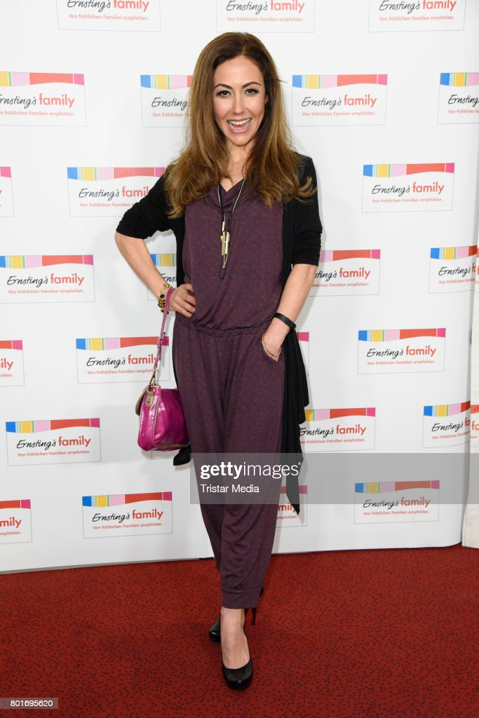 Anastasia Zampounidis attends the Ernsting's Family Fashion Show at Stage Operettenhaus on June 26, 2017 in Hamburg, Germany.