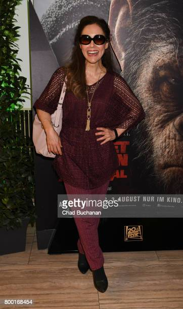 Anastasia Zampounidis attends the 'Planet der Affen' Special Screening in Berlin at Astor Film Lounge on June 23 2017 in Berlin Germany