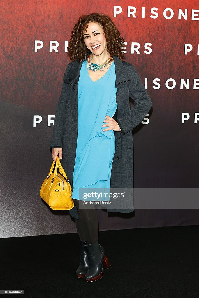 Anastasia Zampounidis attends the 'Prisoners' Germany Premiere at Sony Centre on September 26, 2013 in Berlin, Germany.