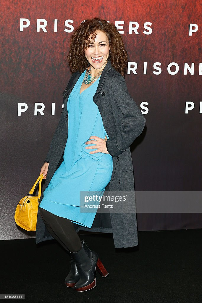 <a gi-track='captionPersonalityLinkClicked' href=/galleries/search?phrase=Anastasia+Zampounidis&family=editorial&specificpeople=638309 ng-click='$event.stopPropagation()'>Anastasia Zampounidis</a> attends the 'Prisoners' Germany Premiere at Sony Centre on September 26, 2013 in Berlin, Germany.