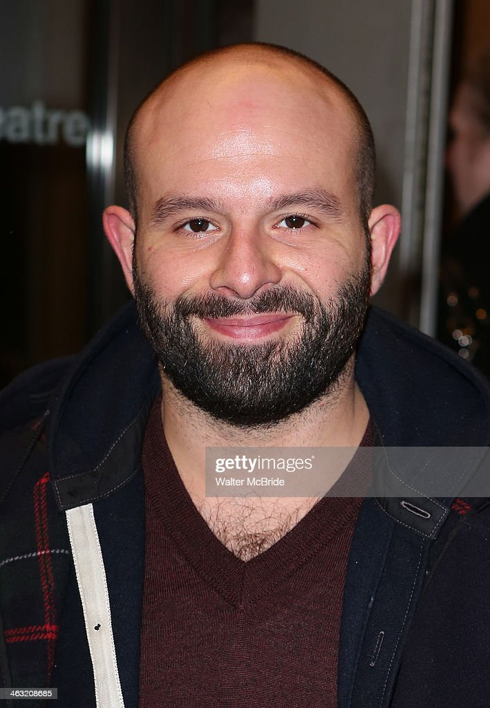 Anatol Yusef attends the Broadway opening night of 'Machinal' at American Airlines Theatre on January 16, 2014 in New York, New York.