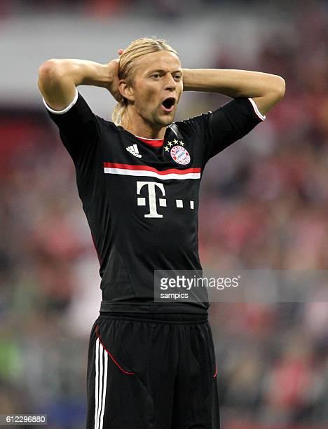 Anatoliy Tymoshchuk FC Bayern Munchen Fussball Vorbereitung Audi Cup FC Bayern Munchen AC Mailand