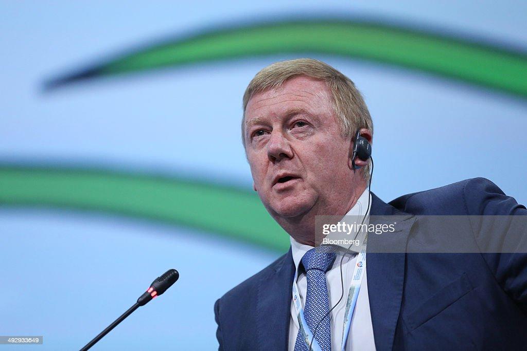 Opening Day Of The Saint Petersburg International Economic Forum 2014