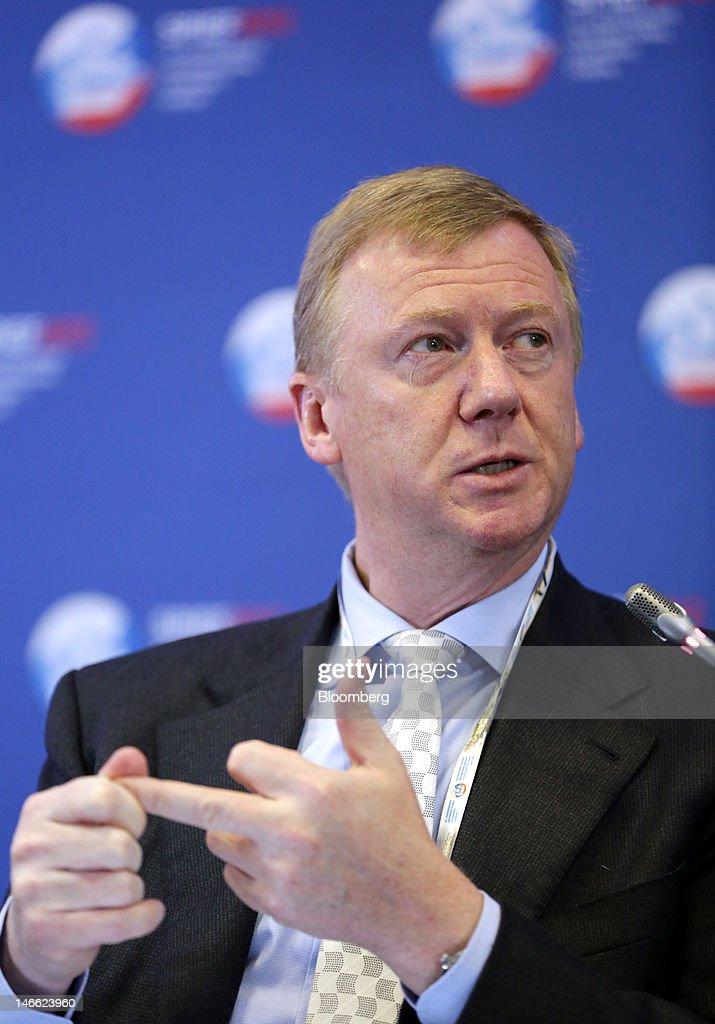 Day One Of The Saint Petersburg International Economic Forum 2012