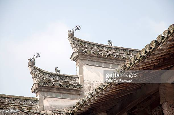 Ancestral Temple at Tangyue Villlage Anhui Province in China