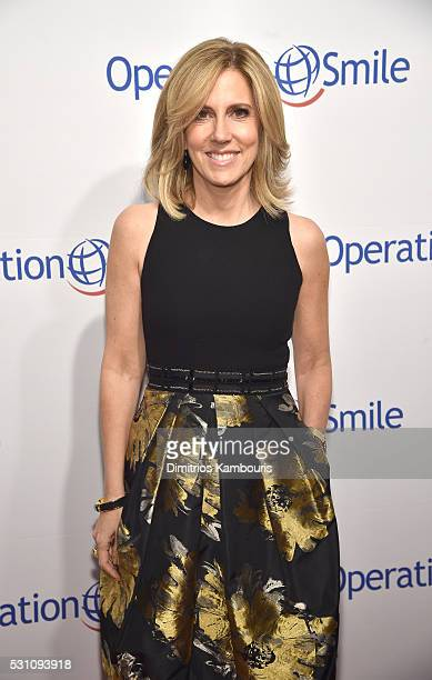 Anchor Alisyn Camerota attends Operation Smile's 14th Annual Smile Gala At Cipriani 42nd St on May 12 2016 in New York City