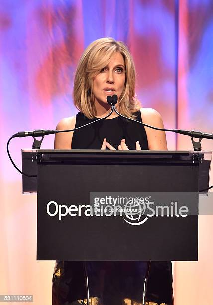 TV anchor Alisyn Camerota speaks during Operation Smile's 14th Annual Smile Gala At Cipriani 42nd St on May 12 2016 in New York City