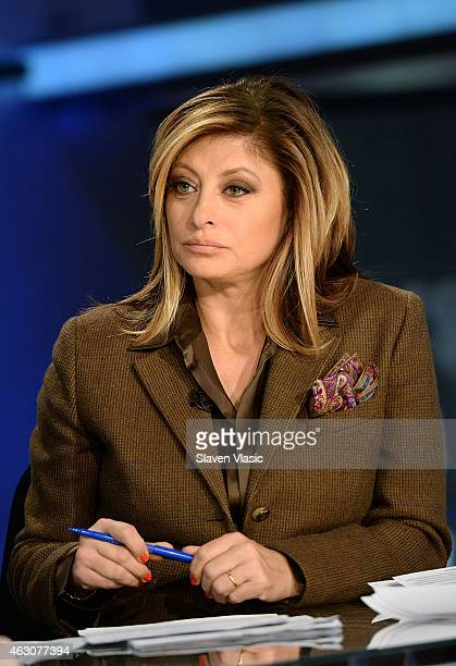 Anchor and Global Markets editor Fox Business Network Maria Bartiromo during the 'Opening Bell with Maria Bartiromo' at FOX Business Network at FOX...