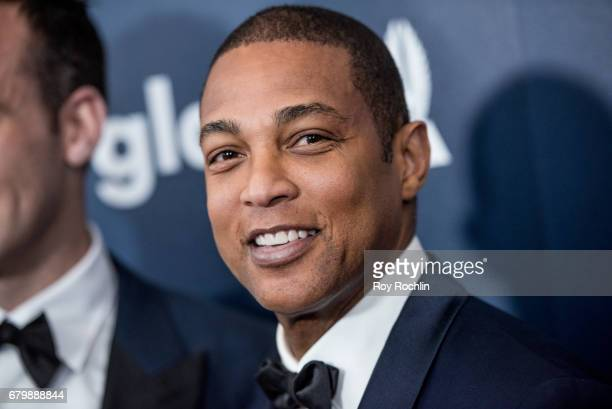 CNN anchor and presenter Don Lemon attends the 28th Annual GLAAD Awards at New York Hilton Midtown on May 6 2017 in New York City