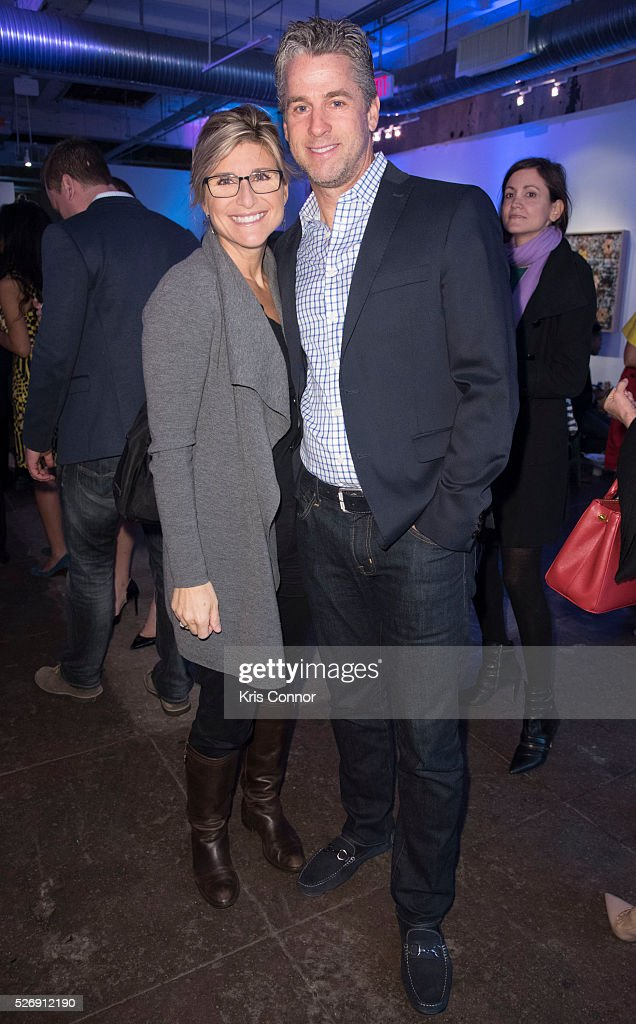 CNN anchor <a gi-track='captionPersonalityLinkClicked' href=/galleries/search?phrase=Ashleigh+Banfield&family=editorial&specificpeople=4534546 ng-click='$event.stopPropagation()'>Ashleigh Banfield</a> and Howard Gould pose for a photo during the 2016 CNN Correspondents' Brunch at the Longview gallery in Washington, DC on May 1, 2016.