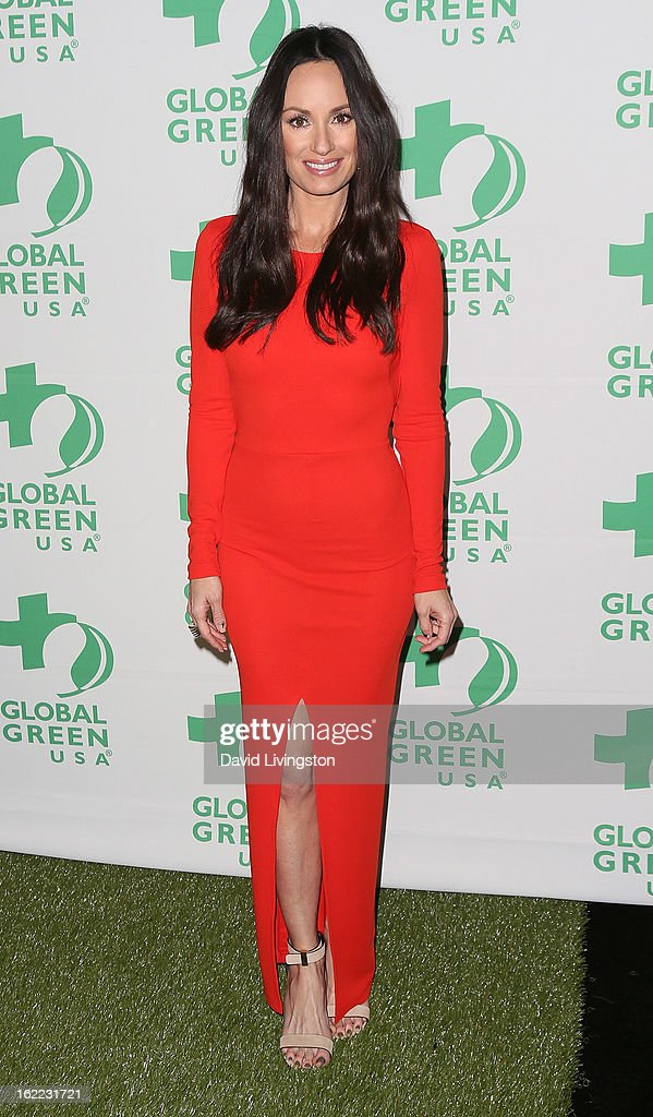 TV anchor Catt Sadler attends Global Green USA's 10th Annual Pre-Oscar Party at Avalon on February 20, 2013 in Hollywood, California.