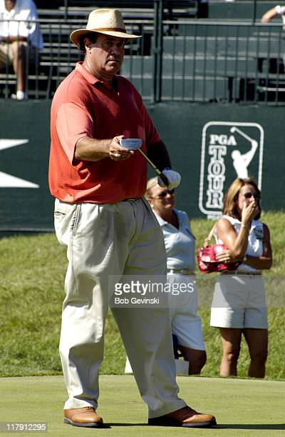 Anchor Chris Berman during the Buick Championship St Paul Travelers Celebrity ProAm tournament on August 25 2004