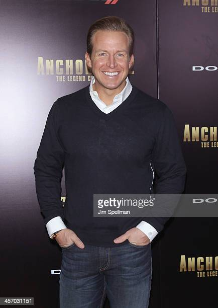 Anchor Chris Wragge attends the 'Anchorman 2 The Legend Continues' US premiere at Beacon Theatre on December 15 2013 in New York City