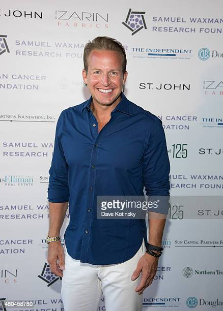 Anchor Chris Wragge attends the Samuel Waxman Cancer Research Foundation 11th Annual A Hamptons Happening on July 11 2015 in Southampton New York
