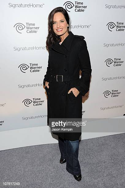 Anchor Contessa Brewer attends the Time Warner Cable SignatureHome Launch Event at 54 Bond Street on December 9 2010 in New York City