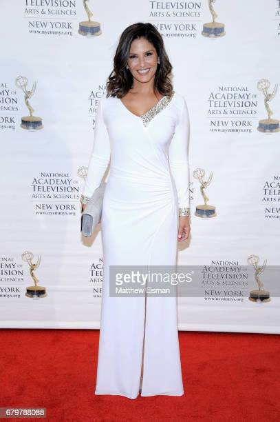 TV anchor Darlene Rodriguez attends the 60th Anniversary New York Emmy Awards Gala at Marriott Marquis Times Square on May 6 2017 in New York City