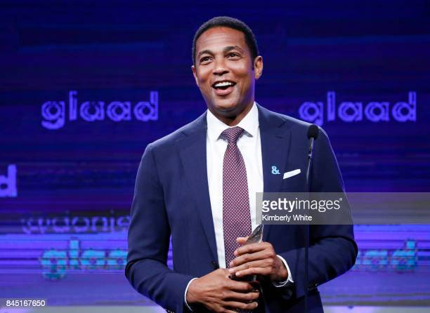 CNN anchor Don Lemon speaks at the 2017 GLAAD Gala at City View at Metreon on September 9 2017 in San Francisco California