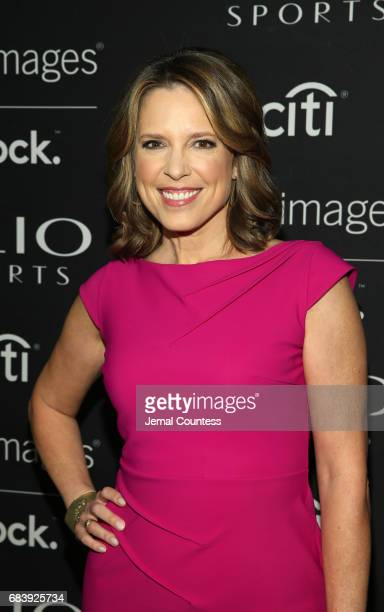 Anchor ESPN's SportsCenter Face to Face Clio Sports Host Hannah Storm attends 2017 Clio Sports Awards at Capitale on May 16 2017 in New York City
