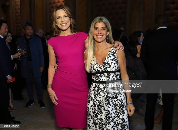 Anchor ESPN's SportsCenter Face to Face Clio Sports Host Hannah Storm and President Clio Awards Nicole Purcell attend 2017 Clio Sports Awards at...