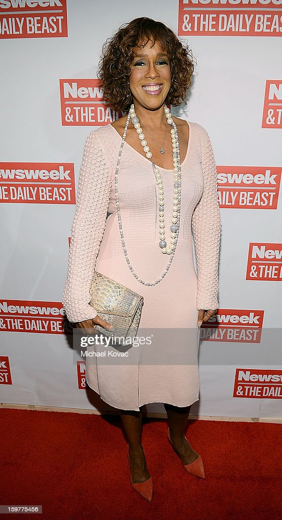 TV anchor Gayle King attends The Daily Beast Bi-Partisan Inauguration Brunch at Cafe Milano on January 20, 2013 in Washington, DC.