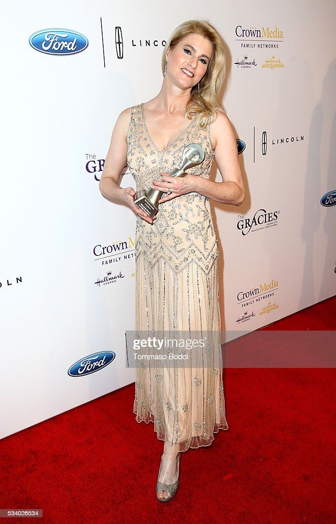 TV Anchor Heather Bosch attends the 41st Annual Gracie Awards at Regent Beverly Wilshire Hotel on May 24, 2016 in Beverly Hills, California.