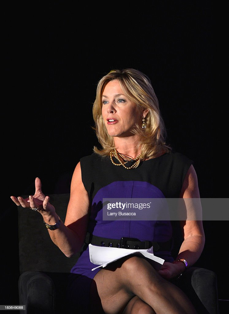 Anchor of Inside Edition <a gi-track='captionPersonalityLinkClicked' href=/galleries/search?phrase=Deborah+Norville&family=editorial&specificpeople=214079 ng-click='$event.stopPropagation()'>Deborah Norville</a> speaks onstage at the 2013 WICT Leadership Conference at the New York Marriott on October 8, 2013 in New York City.