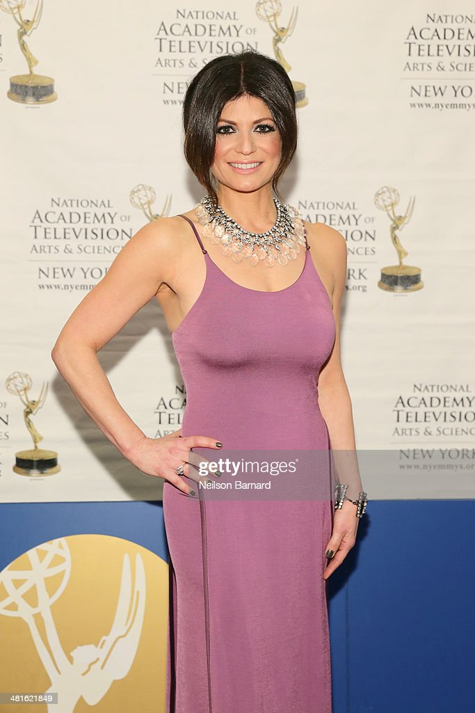 Anchor, PIX11 News at 5 p.m. & 10 p.m., WPIX Tamsen Fadal arrives at the 57th Annual New York Emmy awards at Marriott Marquis Times Square on March 30, 2014 in New York City.