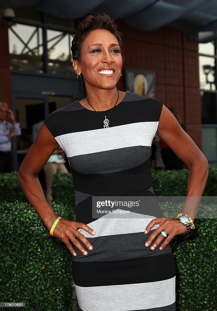 Anchor Robin Roberts attends the 13th Annual USTA Serves Opening Night Gala at USTA Billie Jean King National Tennis Center on August 26, 2013 in New York City.