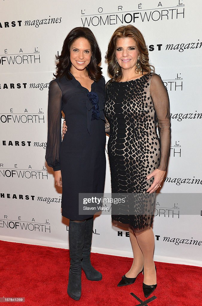 CNN anchor <a gi-track='captionPersonalityLinkClicked' href=/galleries/search?phrase=Soledad+O%27Brien&family=editorial&specificpeople=223926 ng-click='$event.stopPropagation()'>Soledad O'Brien</a> and Karen Fondu, President of L'Oreal Paris attend Seventh Annual Women Of Worth Awards at Hearst Tower on December 6, 2012 in New York City.