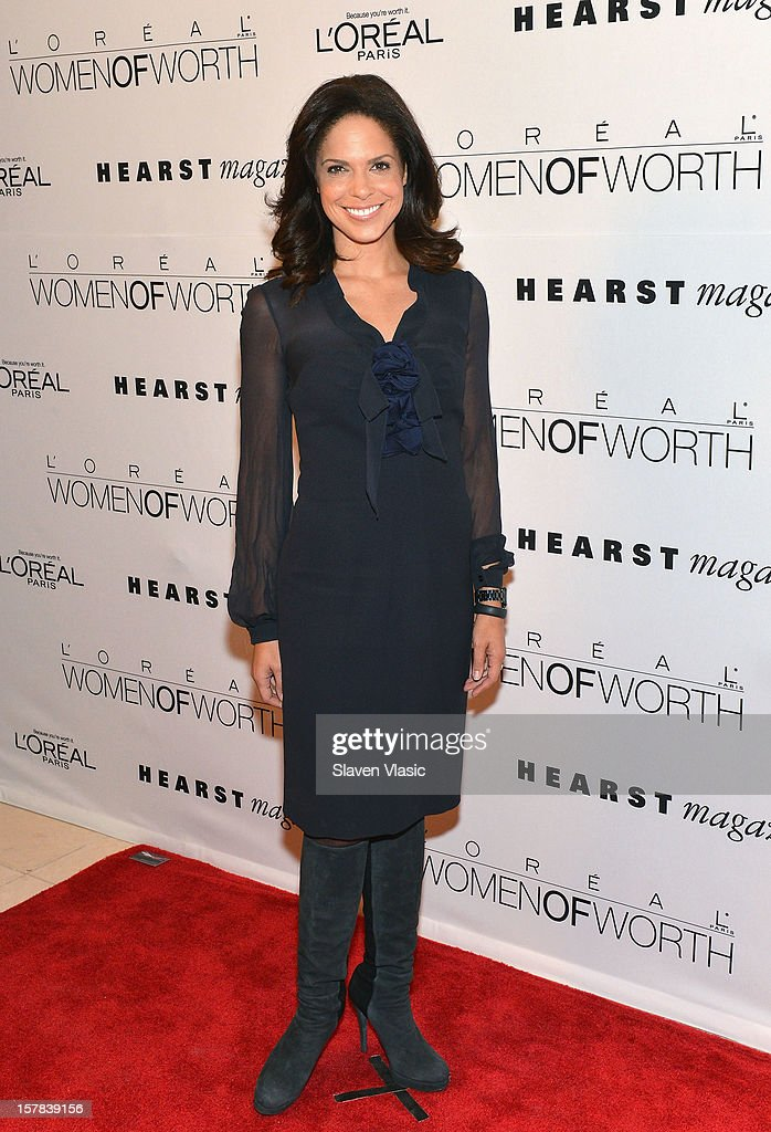 CNN anchor Soledad OÕBrien attends Seventh Annual Women Of Worth Awards at Hearst Tower on December 6, 2012 in New York City.