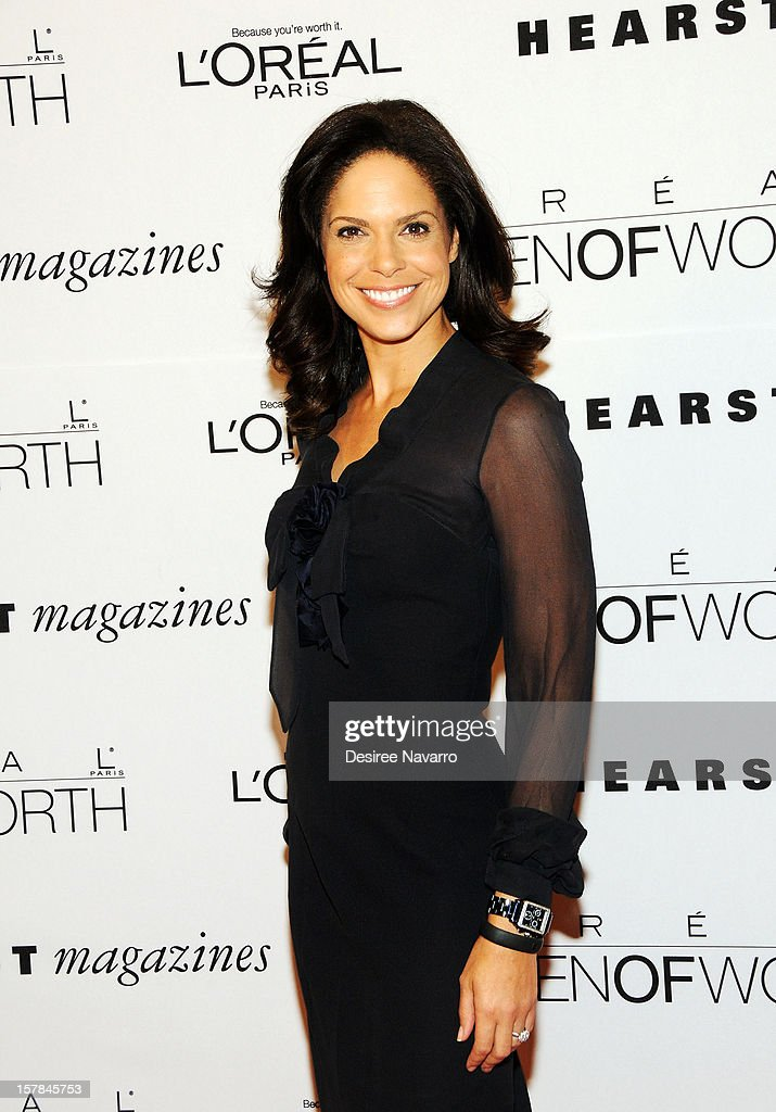 CNN anchor Soledad O'Brien attends the 7th annual Women of Worth Awards at Hearst Tower on December 6, 2012 in New York City.