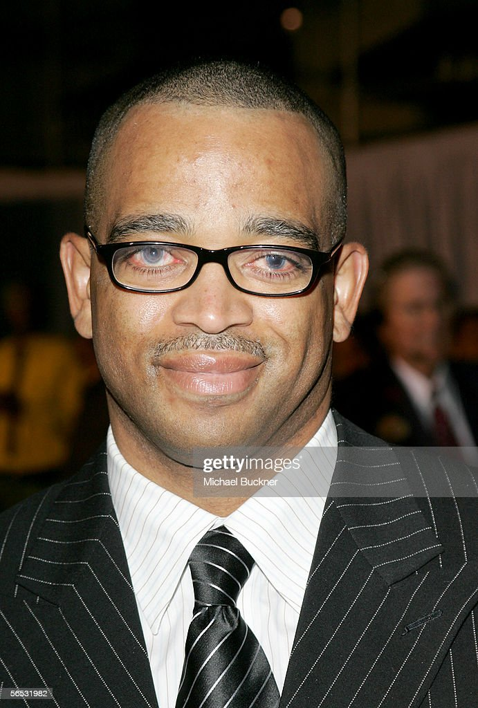 ESPN anchor Stuart Scott arrives at the premiere of Walt Disney Pictures' 'Glory Road' at the Pantages Theatre on January 5 2006 in Los Angeles...