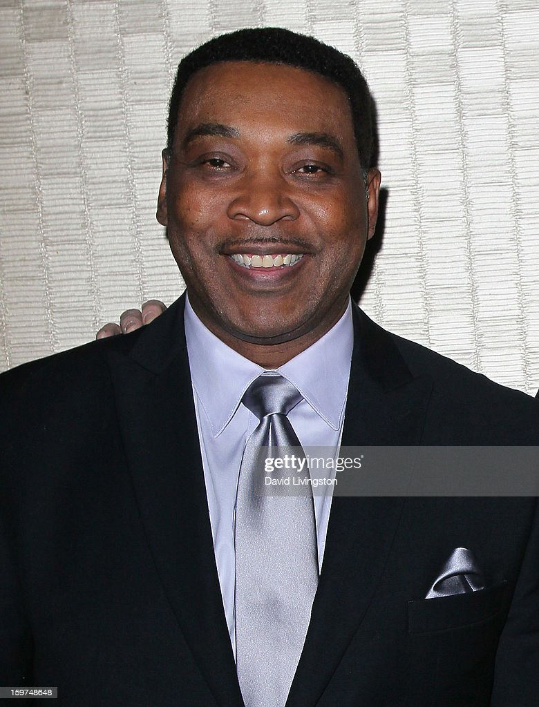 TV anchor Tony McEwing attends the Radio & Television News Association of Southern California's 63rd Annual Golden Mike Awards at Universal City Hilton & Towers on January 19, 2013 in Universal City, California.