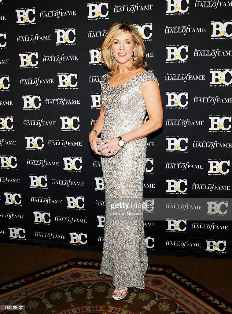 TV anchor/journalist Deborah Norville attends the Broadcasting And Cable 23rd Annual Hall Of Fame Awards dinner at The Waldorf Astoria on October 28, 2013 in New York City.