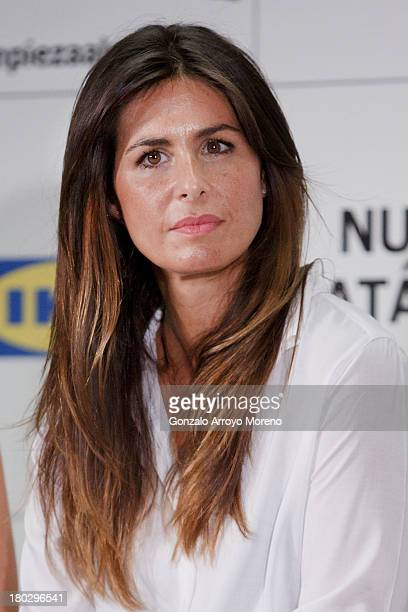 TV anchorwoman Nuria Roca attends the Ikea Presentation at Ikea store on September 11 2013 in San Sebastian de los Reyes Madrid Spain