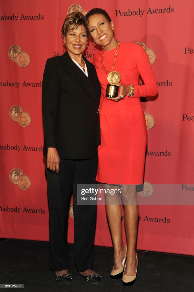 Anchorwoman Sally-Ann Roberts and TV Broadcaster Robin Roberts attend 72nd Annual George Foster Peabody Awards at The Waldorf=Astoria on May 20, 2013 in New York City.