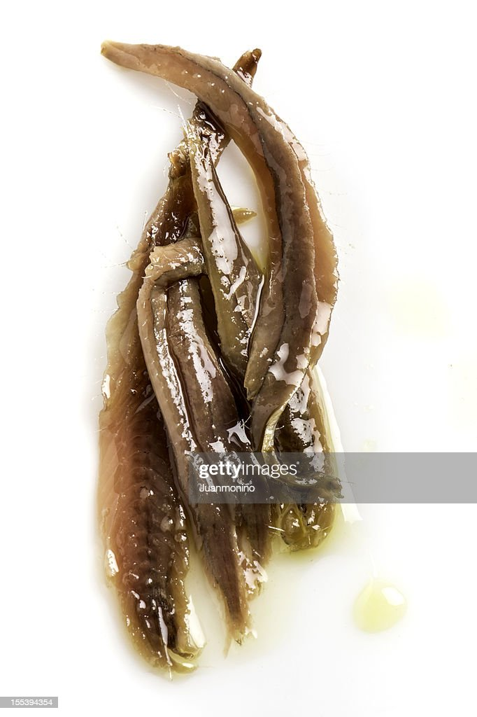 Anchovies in Olive Oil