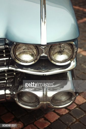 ancient American well-known car : Stock Photo