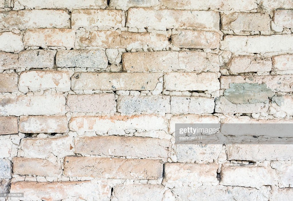 Ancient brick wall : Stock Photo