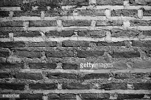 ancient Brick wall texture and background : Stock-Foto