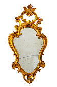 Ancient Broken Mirror Cut Out