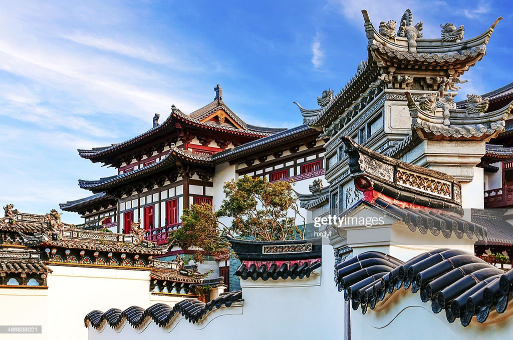 Ancient Chinese Architecture Stock Photo Thinkstock
